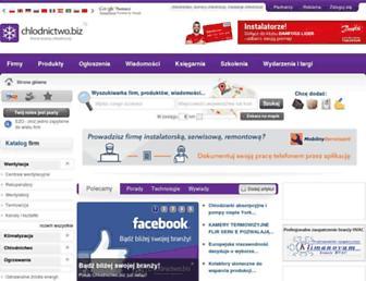 Thumbshot of Chlodnictwo.biz