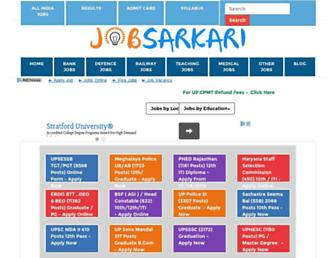 jobsarkari.com screenshot