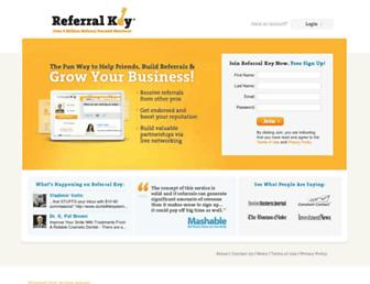 Thumbshot of Referralkey.com
