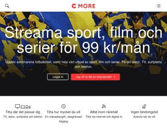 cmore.se screenshot