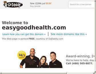 Thumbshot of Easygoodhealth.com
