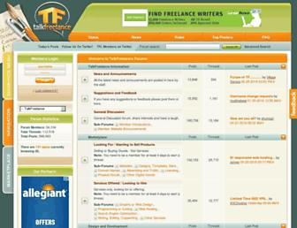 Thumbshot of Talkfreelance.com
