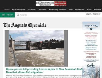 augustachronicle.com screenshot