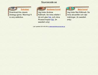 sourcecode.se screenshot