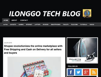 ilonggotechblog.com screenshot