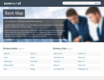 bank-map.com screenshot