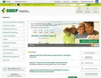 susep.gov.br screenshot
