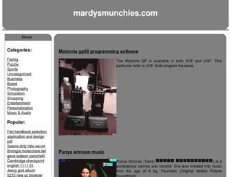 mardysmunchies.com screenshot