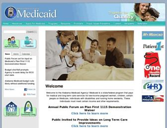 medicaid.alabama.gov screenshot