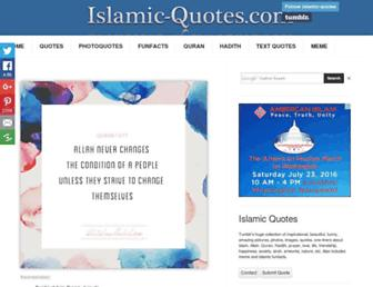 islamic-quotes.com screenshot