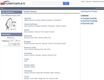 linkformtemplate.com screenshot