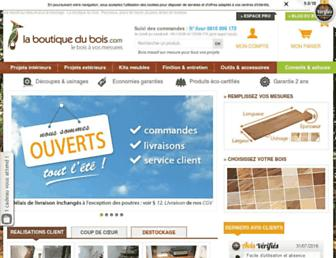 laboutiquedubois.com screenshot