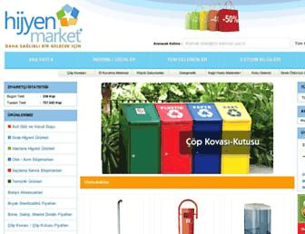 hijyenmarket.net screenshot