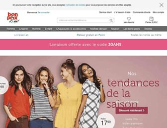 bonprix.fr screenshot