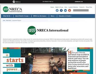 nrecainternational.coop screenshot