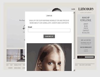 lineandjo.com screenshot