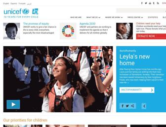 Thumbshot of Unicef.org