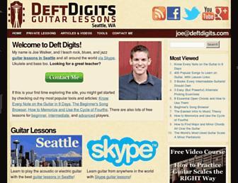 deftdigits.com screenshot