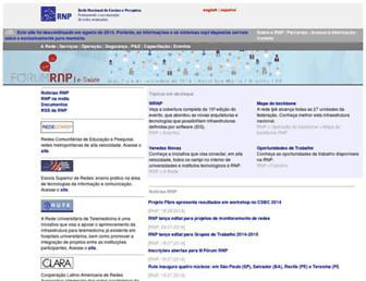 memoria.rnp.br screenshot