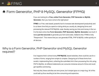 fpmgonline.com screenshot