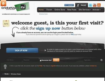 Thumbshot of Cricketusers.com
