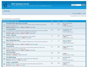 forums.vso-software.fr screenshot