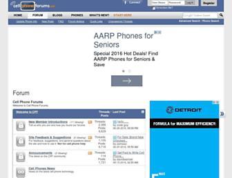 cellphoneforums.net screenshot