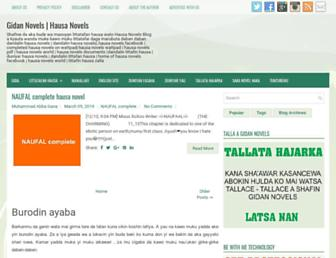 gidannovels.guidetricks.com screenshot