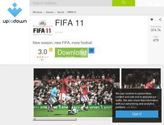 fifa-11.en.uptodown.com screenshot