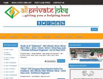 allprivatejobss.blogspot.com screenshot