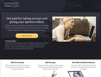 Thumbshot of Consumeropinionpanel.com