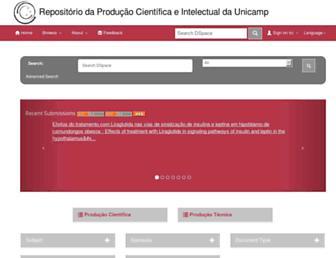 repositorio.unicamp.br screenshot
