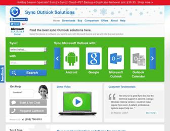 syncoutlook.com screenshot
