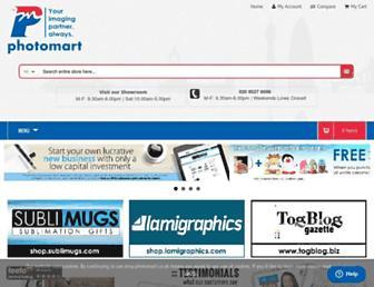 photomart.co.uk screenshot