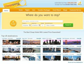 Thumbshot of Cheaprooms.com