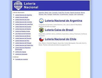 nacionalloteria.com screenshot