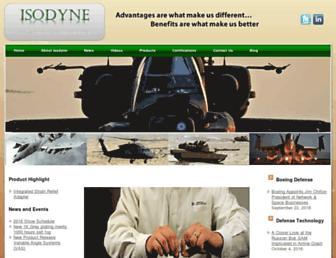 isodyneinc.com screenshot