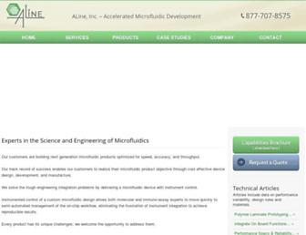 alineinc.com screenshot