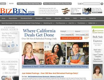 Thumbshot of Bizben.com