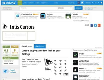 entis-cursors.en.softonic.com screenshot