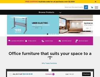 topazfurniture.com.au screenshot