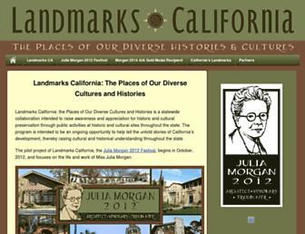 landmarkscalifornia.org screenshot