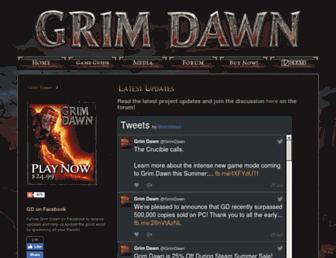 Thumbshot of Grimdawn.com