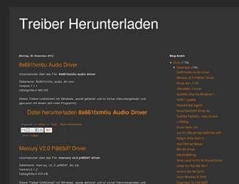 treiber-herunterladen.blogspot.com screenshot