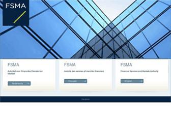 fsma.be screenshot