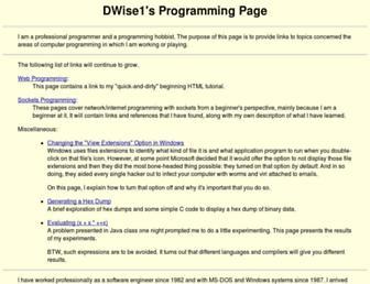 pgm.dwise1.net screenshot