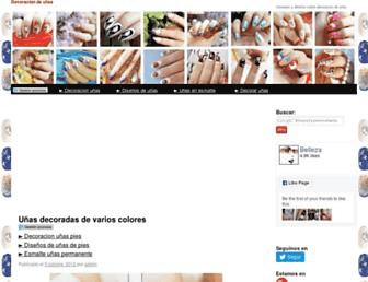 decoracion-de-unas.com screenshot