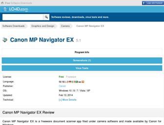 canon-mp-navigator-ex.en.lo4d.com screenshot