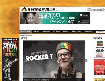 reggaeville.com screenshot