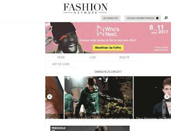fr.fashionnetwork.com screenshot